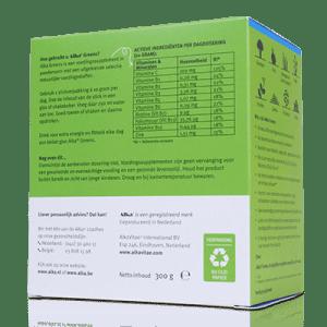 Alka - Greens - basische voedingsextracten - achterkant | Zussb