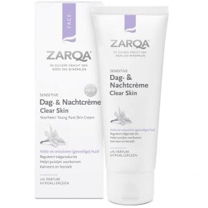 Zarqa - Sensitive Dag- & Nachtcreme Clear Skin | Zussb