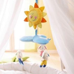 Haba - Mobiel Wolkendromer - boven bed | Zussb