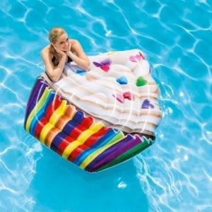Intex - Cupbake luchtbed - zwembad | Zussb