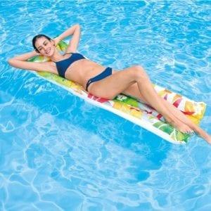 Intex - Bloemen luchtbed - zwembad | Zussb