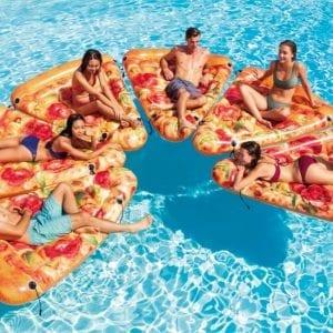 Intex - Pizzapunt luchtbed - 6 luchtbedden | Zussb