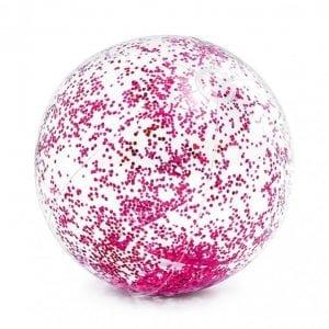 Intex - Strandbal - Glitter Roze | Zussb