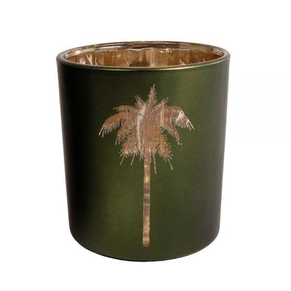 Waxinelichthouder - Palmboom | Zussb
