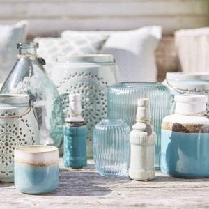 Riverdale - Candle Pot Vintage - Aqua sfeerfoto | Zussb