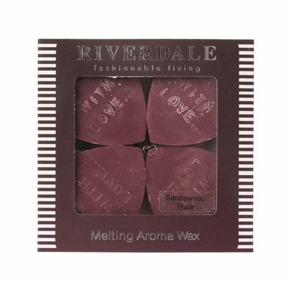 Riverdale - Melting Aroma Wax - Sandalwood Rose | Zussb