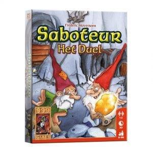 Saboteur Het Duel - Verpakking | Zussb