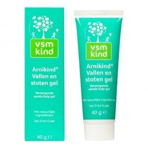 VSM kind - Arnikind Vallen en Stoten gel - 40 gr | Zussb