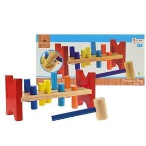 Houten Speelgoed - Hamerbankje | Zussb