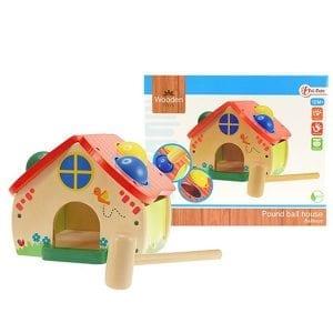 Houten Speelgoed - Huisje | Zussb