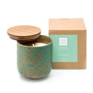ISHI - Home Geurstokjes - Groene thee en Jasmijn - kaars met verpakking | Zussb
