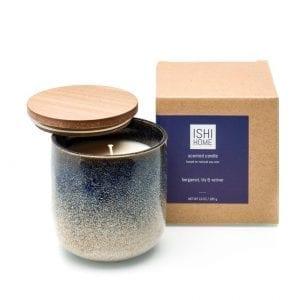 ISHI - Home Geurstokjes - Bergamot, Lelie en Vetvier - kaars met verpakking | Zussb