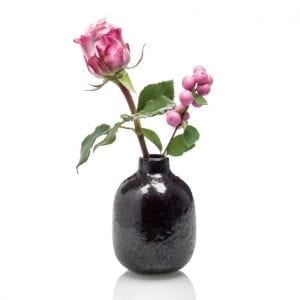 ISHI - Home Geurstokjes - Ceder en Vetiver - vaasje met bloemen | Zussb