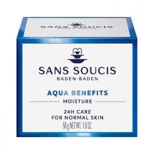 Sans Soucis - Aqua Benefits - 24h normale huid | Zussb