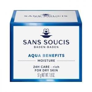 Sans Soucis - Aqua Benefits - 24h droge huid | Zussb
