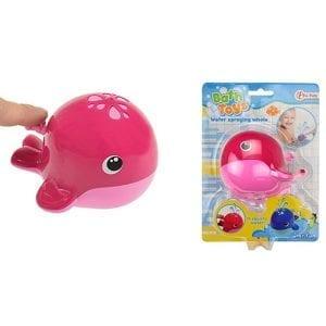 Bath Toys - Waterspuiter Walvis - Roze | Zussb