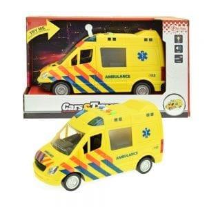 Ambulance speelgoedauto | Zussb