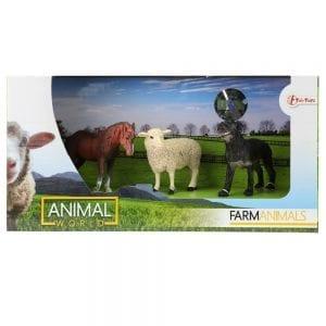 Animal World - Boerderijdieren met Lammetje Verpakking | Zussb