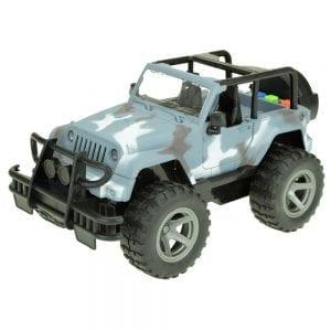 Jeep Speelgoedauto - Leger Grijs | Zussb