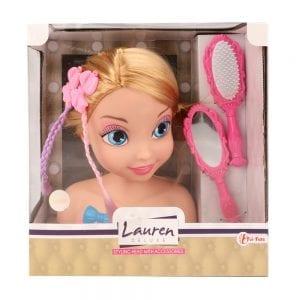 Lauren Deluxe - Kappop met accessoires Verpakking | Zussb