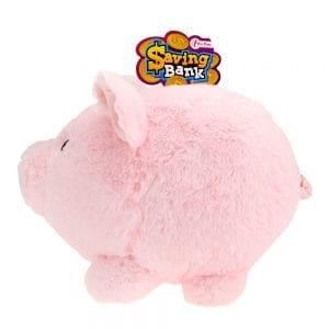 Saving Bank - Roze Pluche Spaarvarken | Zussb