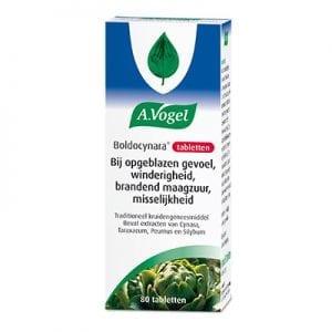 A. Vogel - Boldocynara 80 tabletten | Zussb