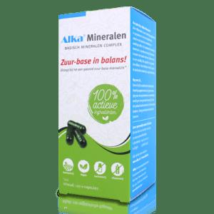Alka - Mineralen - basisch mineralen complex - verpakking | Zussb