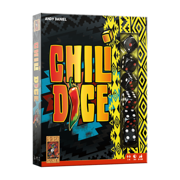 999 Games - Chili Dice | Zussb