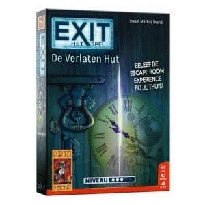 999 Games - Exit De Verlaten Hut - verpakking | Zussb
