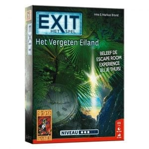 999 Games - Exit Het Vergeten Eiland - verpakking | Zussb