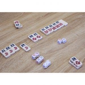 999 Games - Regenwormen - spelsituatie | Zussb