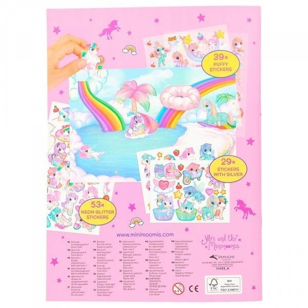 Fantasy Model - Unicorn World - achterkant   Zussb