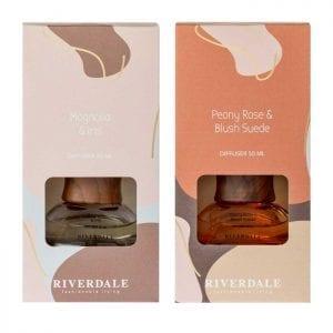Riverdale - Geurstokjes Coffee - doosjes   Zussb