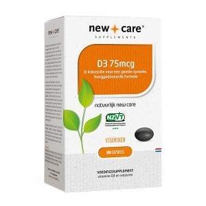 New Care - D3 vitamine capsules | Zussb