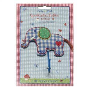 Die Spiegelburg - Wandhaakje, olifant | Zussb